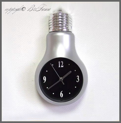 лампочка-часики