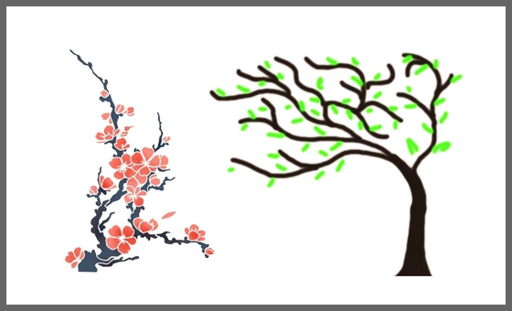 Эскизы деревьев