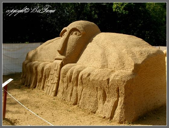 Голова сказочного великана (Тироль, Австрия)